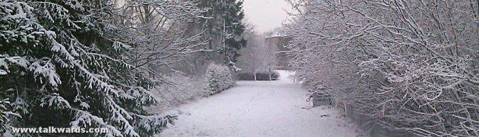Winter has come!