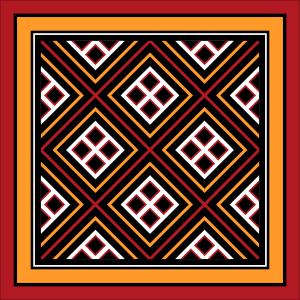 Torajan pattern - pa're'po sangbua