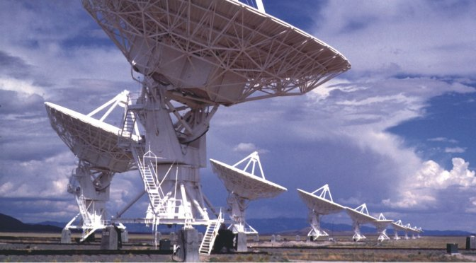 SETI radio telescopes