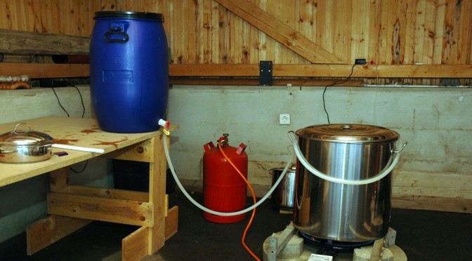 Who's really, really, really homebrewing?